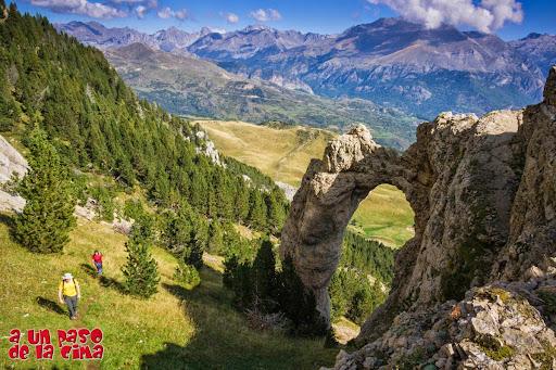 El Arco de Piedrafita. ©aunpasodelacima