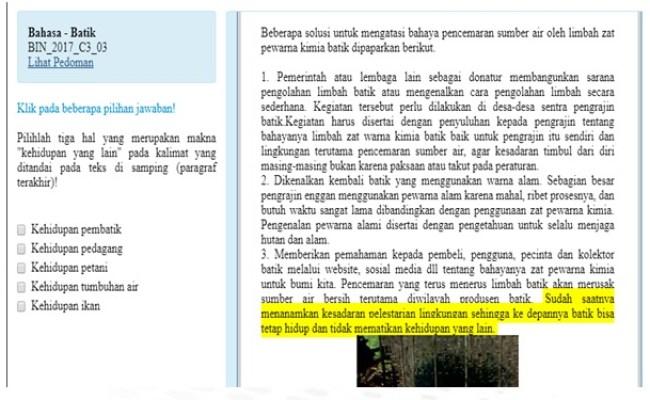 Kumpulan Contoh Soal Contoh Soal Akm Guru Cute766