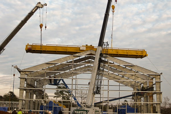 Systems Contracting Structural Steel Erection & Overhead Crane Installation