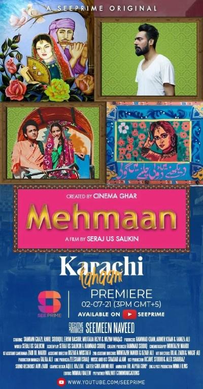 See Prime's New mini-series 'Karachi Kahaani' New Episode 'Mehmaan' Now Streaming