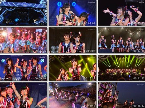 (TV-Music)(1080i) NMB48 – INAZUMA ROCK FES 2014 141130