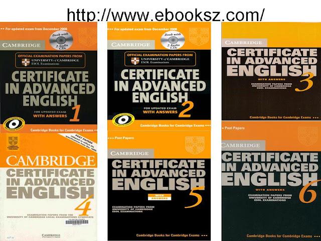 Download: Cambridge Certificate in Advanced English 1, 2, 3, 4, 5, 6 ( FULL Ebooks + Audio)