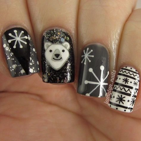 modest winter nail designs for 2016  styles 7