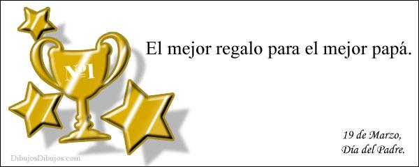 Felicitaciones papá