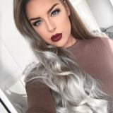Ombre Hair Color Ideas For Gray Hair  2017 2018