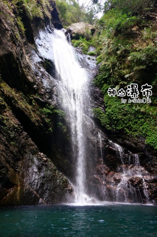 神山瀑布美圖分享
