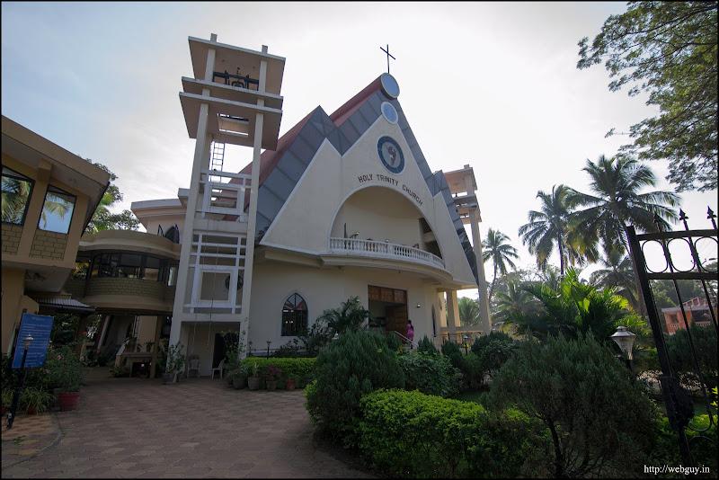 Holy Trinity church south goa