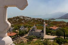 Monastery on the island Ostrvo Beska.