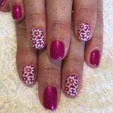 Lovely Daisy Nail Manicure 2017