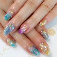 colorful starfish nail art summer 2017 - style you 7