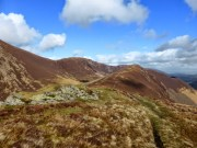 Scar Crags and Ard Crags from Ill Crag [Newlands]