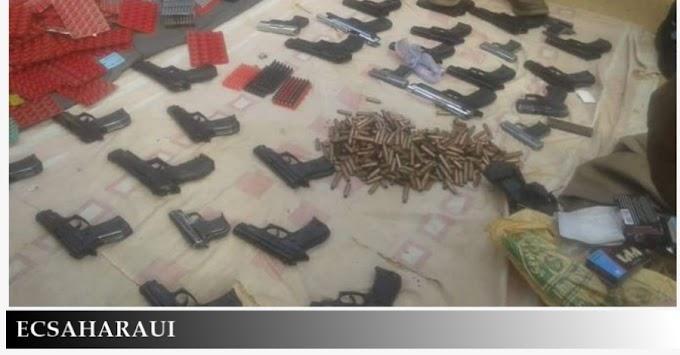 Contrabando de armas: Aduanas de Mauritania intercepta un camión marroquí cargado con armas y munición que entró en el territorio a través de Guerguerat.