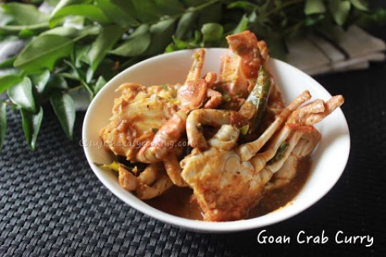Goan crab curry 3
