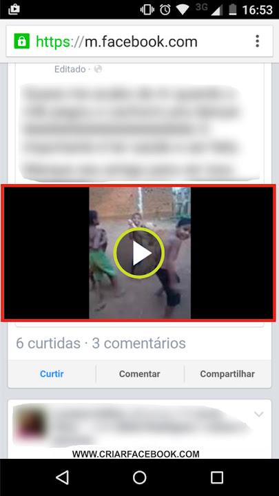 Como enviar vídeo do Facebook para o WhatsApp rápido 772450b716fe