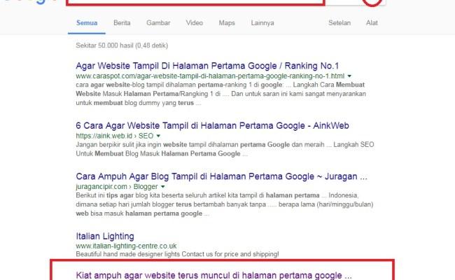 Terbukti 7 Cara Agar Website Masuk Halaman Pertama Mesin Pencari Cute766