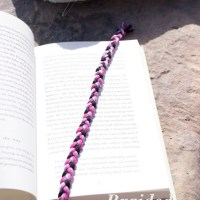 Braided DIY Bookmark