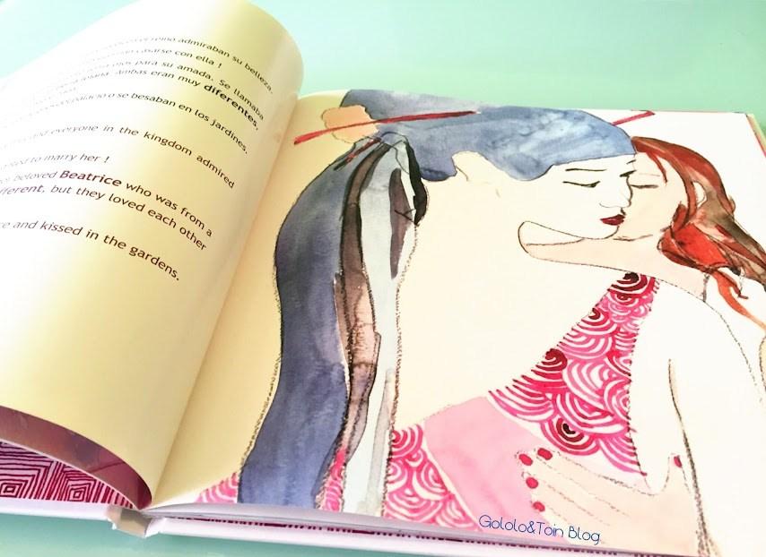 cuento-libro-álbum-ilustrado-homosexualidad-nubeocho-niños-bilingue