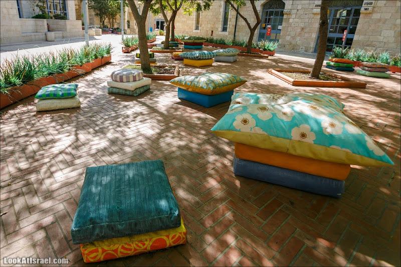 Иерусалим: о бетоне и подушках