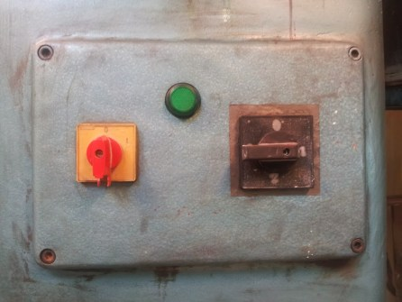 Old machine controls part 2