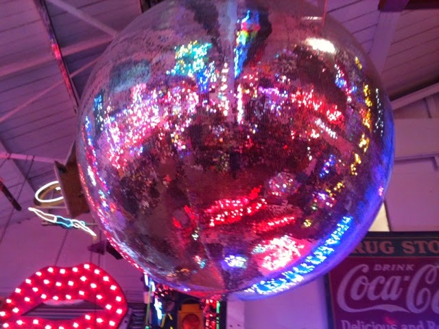 Gods Own Junk Yard glitter ball