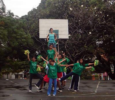 Green Cheer Dance Team