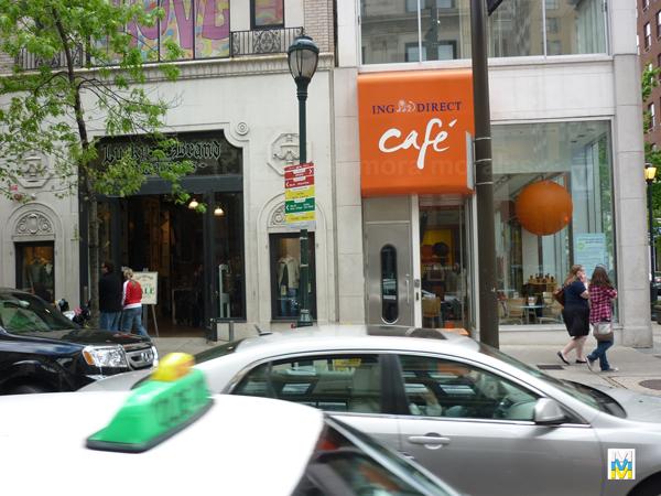 Cafetería ING DIRECT, en Filadelfia, Pensilvania, EEUU.