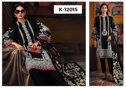 Gul Ahmed Unstitched Fall/Winter Collection 2021