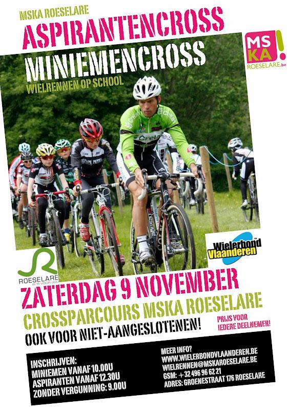 Aspirantencross miniemencross MSKA Roeselare