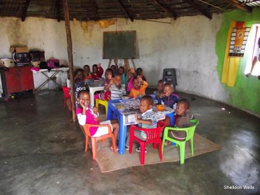 children eating their lunch