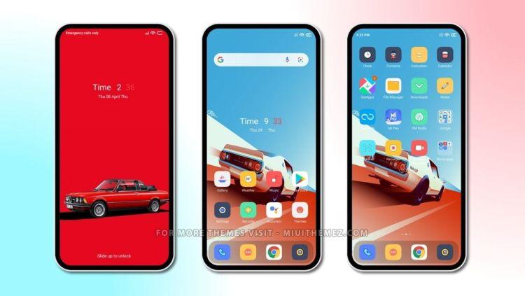 [HERUNTERLADEN] : Lorex MIUI Theme mit einfachem Minimal Design für Xiaomi Phones