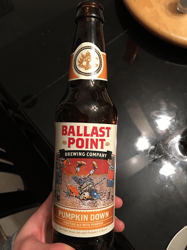 Ballast Point Brewing Company Pumpkin Dpwn