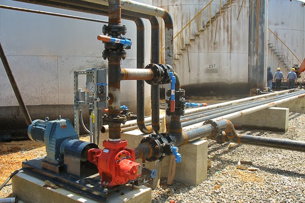 Systems Contracting Refinery Pump Piping