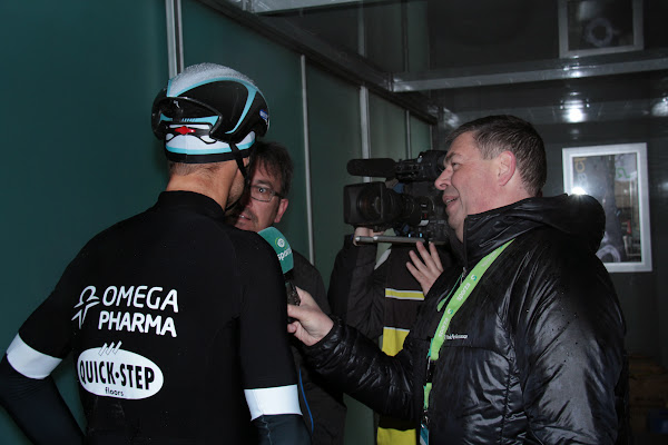 interview Tom Boonen bij Sporza