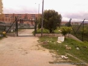Nueva puerta acceso al humedal Jaboque