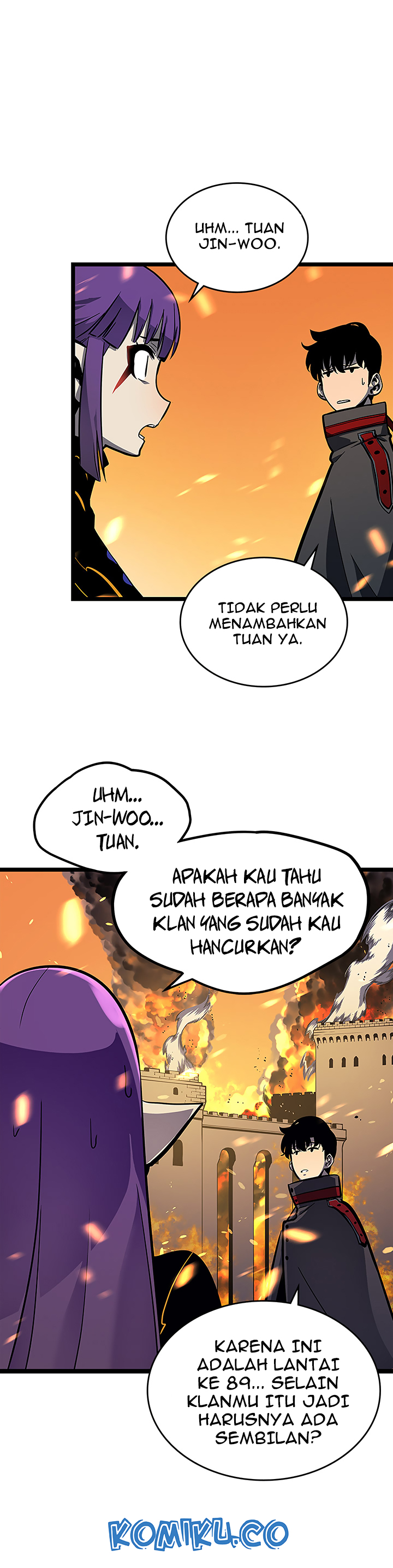 Solo Leveling Chapter 84 Indo gambar 25