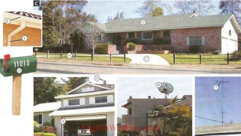 آپارتمان ها و خانه ها - محل زندگی - مسکن - عکس فرهنگ لغت