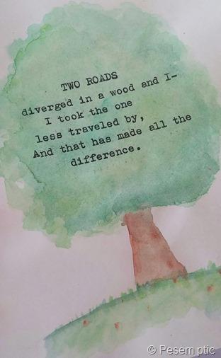 drevo z mislijo Ustvarjalni dnevi