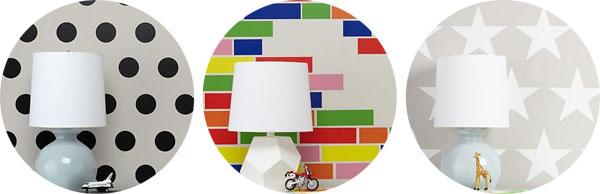 Decorar paredes con adhesivos