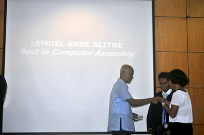 Lemuel Alitre, Best in Computer Assembly