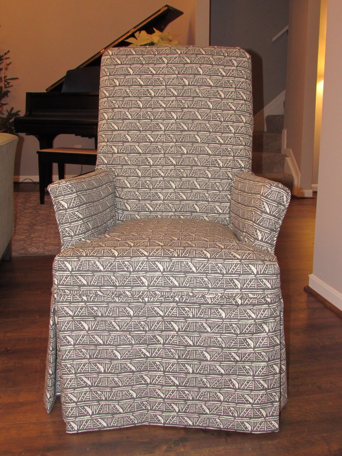 how to slipcover a chair with arms extra large bean bag chairs parson