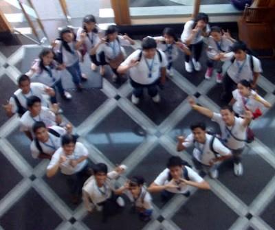 March 17: Inside GMA-7 Lobby, Quezon City