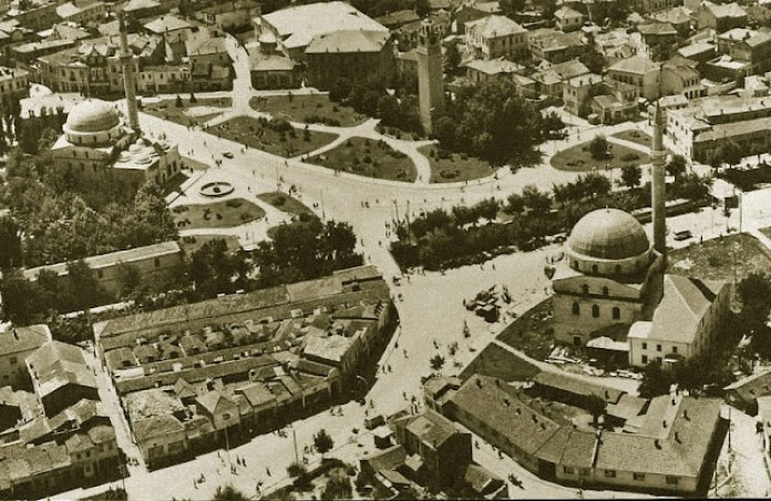 Bezisten Bitola - view from air - estimate period 1960s
