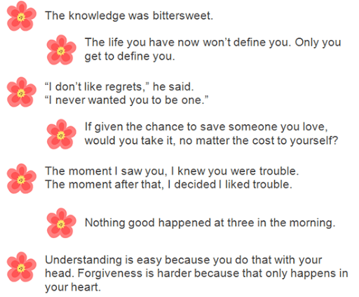 citati iz knjige Sweet Liar