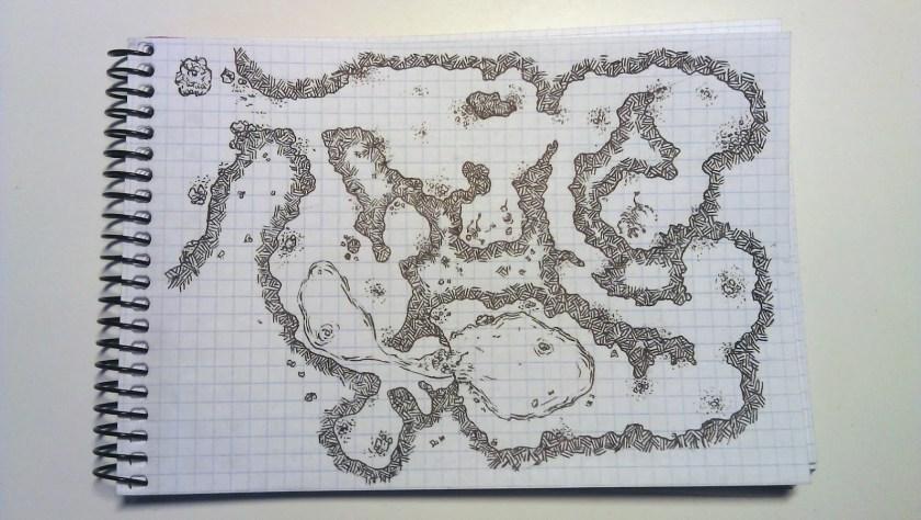 El primer paso para tratarlos es tener mapas dibujados a mano.