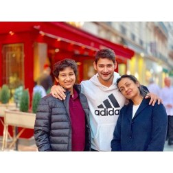 An evening in Paris with Family