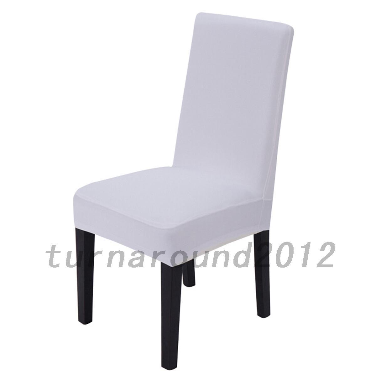 dining room chair covers ebay wooden hand creative universal stretch spandex banquet