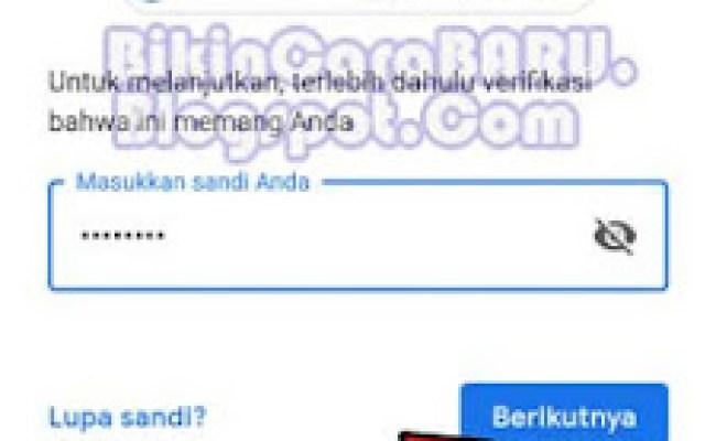 Cara Ganti No Hp Pemulihan Akun Google Gmail Cute766