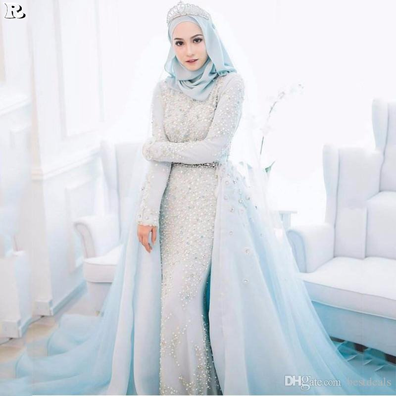 15 Muslim Wedding Dresses 2018 - Reny styles