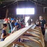 La atelierul de barci al d-lui Vasilescu