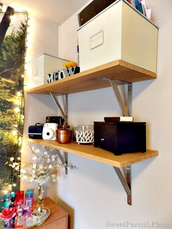 DIY Wall Shelves5